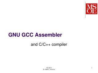 GNU GCC Assembler