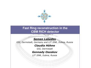 Fast Ring reconstruction in the  CBM RICH detector