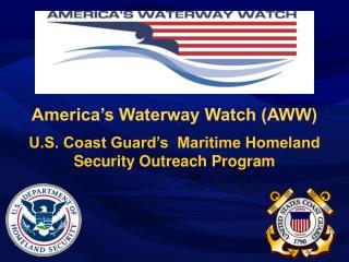 America's Waterway Watch (AWW)