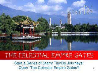 "Start a Series of Starry TianDe Journeys! Open ""The Celestial Empire Gates""!"