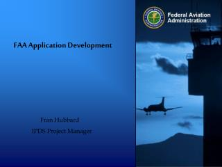 FAA Application Development