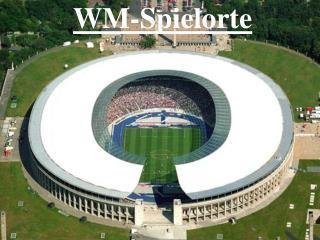 WM-Spielorte