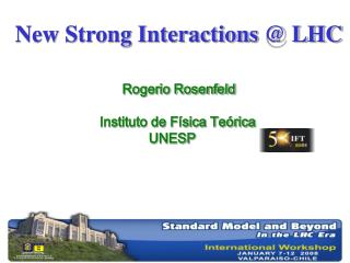 New Strong Interactions @ LHC