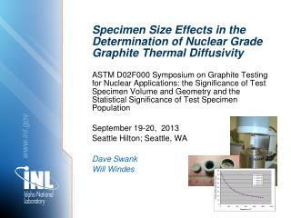 Specimen Size Effects in the Determination of Nuclear Grade Graphite Thermal Diffusivity