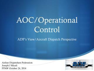 AOC/Operational Control