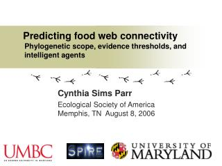 Predicting food web connectivity Phylogenetic scope, evidence thresholds, and intelligent agents