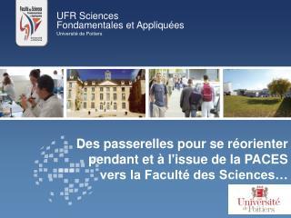 UFR Sciences  Fondamentales et Appliquées