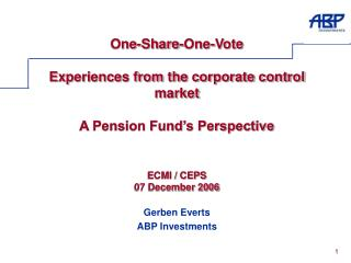 Gerben Everts ABP Investments