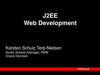 J2EE  Web Development
