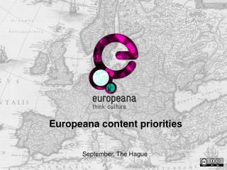 Europeana content priorities