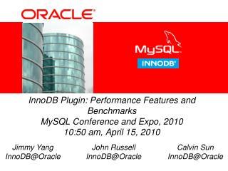 John Russell InnoDB@Oracle