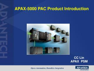 APAX-5000 PAC Product Introduction
