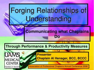 Forging Relationships of Understanding