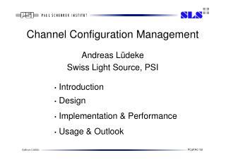Channel Configuration Management