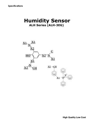 Humidity Sensor ALH Series (ALH-3EG)