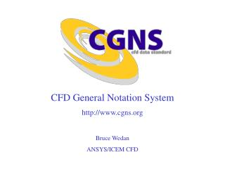 CFD General Notation System cgns Bruce Wedan ANSYS/ICEM CFD
