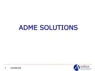 ADME SOLUTIONS