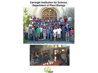 Carnegie Institution for Science, Department of Plant Biology