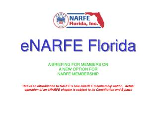 eNARFE Florida