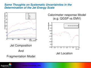 Some Thoughts on Systematic Uncertainties in the Determination of the Jet Energy Scale