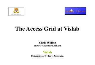 The Access Grid at Vislab