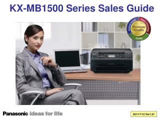 KX-MB1500 Series Sales Guide