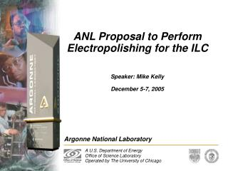 ANL Proposal to Perform Electropolishing for the ILC