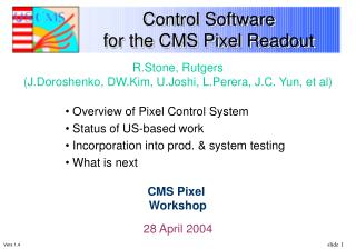Control Software  for the CMS Pixel Readout