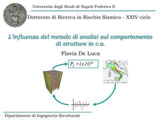 Dottorato di Ricerca in Rischio Sismico - XXIV ciclo