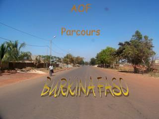 AOF  Parcours