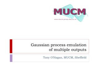 Gaussian process emulation  of multiple outputs