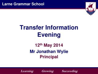 Transfer Information Evening