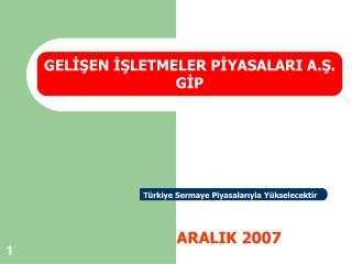 ARALIK 2007