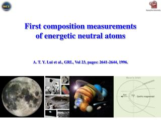 First composition measurements  of energetic neutral atoms