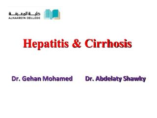 Hepatitis & Cirrhosis