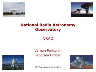 National Radio Astronomy Observatory NRAO