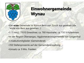 Einwohnergemeinde Wynau