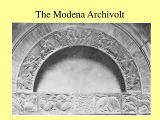 The Modena Archivolt