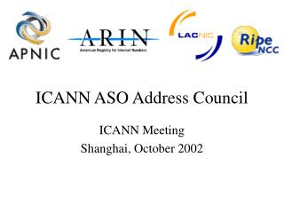 ICANN ASO Address Council