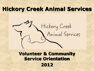 Hickory Creek Animal Services