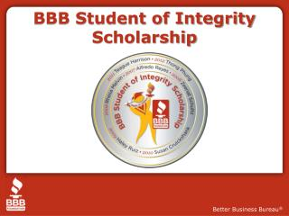 BBB Student of Integrity Scholarship