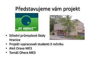 Představujeme vám projekt