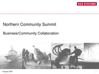 Northern Community Summit Business/Community Collaboration