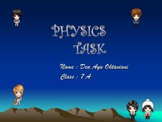 PHYSICS TASK