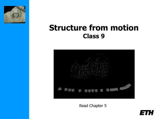 Structure from motion Class 9