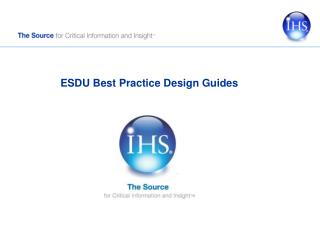 ESDU Best Practice Design Guides