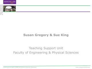 Susan Gregory  Sue King