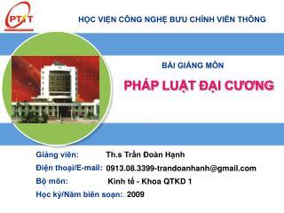 Th.s Trần Đoàn Hạnh