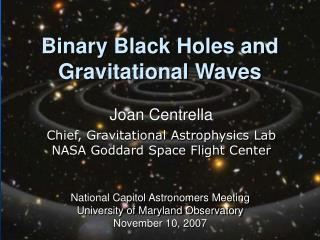 Binary Black Holes and Gravitational Waves