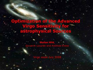 Optimization of the Advanced Virgo Sensitivity for astrophysical Sources